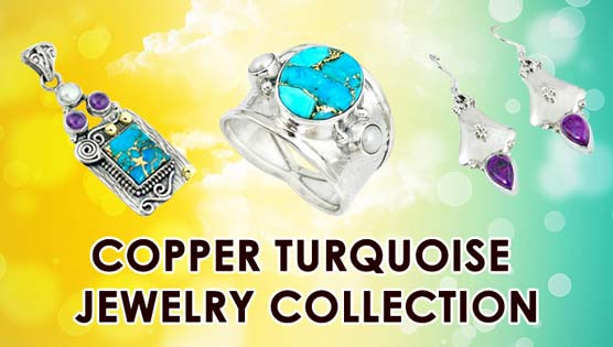Copper Turquoise Jewelry Collection
