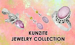 Kunzite Jewelry Collection