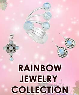 Rainbow Color Jewelry Collection